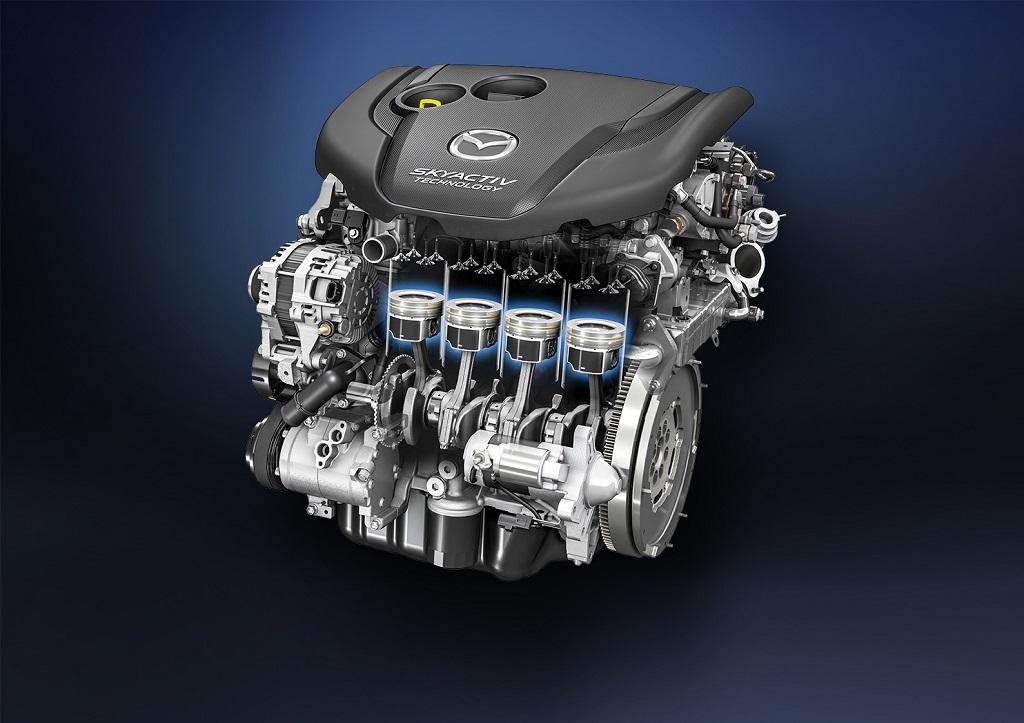 Двигатели Mazda Skyactiv