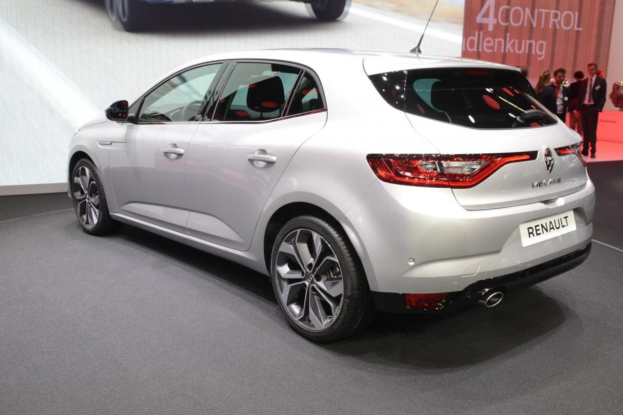 новый Renault Mégane